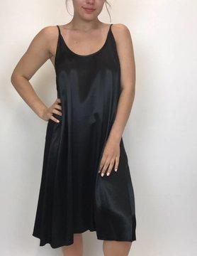 PJ Harlow PJ Harlow Ruby-Spaghetti Tank Gown Black