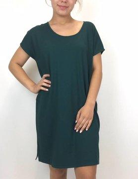 Lilla P Lilla P Tshrt Dress Sea Moss PA0420