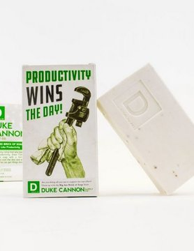 DUKE CANNON Duke Cannon Big Ass Brick of Soap- Smells Like Productivity 03WHITE1