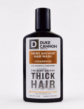 DUKE CANNON Duke Cannon News Anchor 2in1 Hair Wash Cedarwood Tea Tree