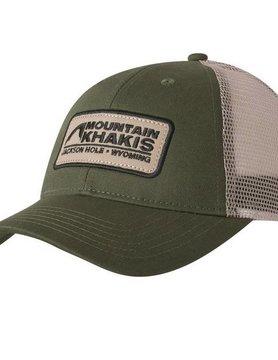 Mountain Khaki Mountain Khakis Soul Patch Trucker Cap Field Green OS