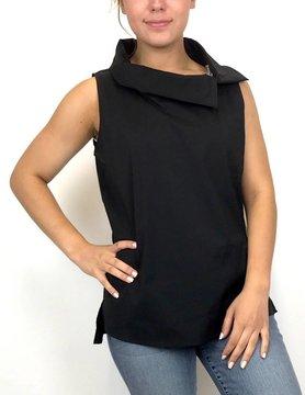 Beau Jours Beau Jours Sleeveless Shirt Blk 3M2238
