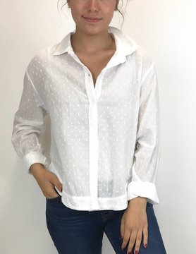 Bella Dahl Bella Dahl Button Down White