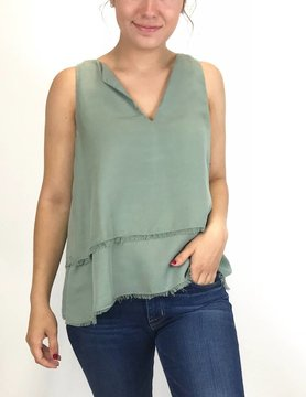Bella Dahl Bella Dahl Swing Tunic Dried Sage