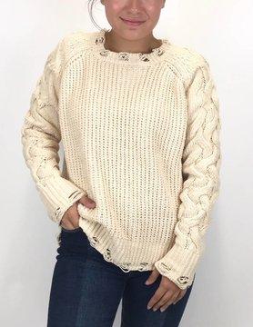 Esqualo Esqualo Chanille Sweater