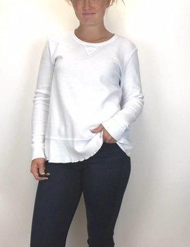 Mod-o-doc Mod-O-Doc L/S Sweatshirt Tee White