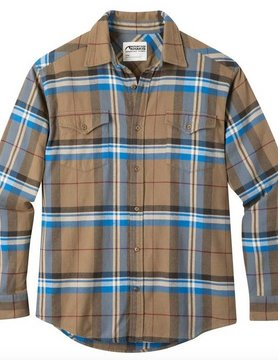 Mountain Khaki Mountain Khakis Teton Flannel Shirt Tobacco