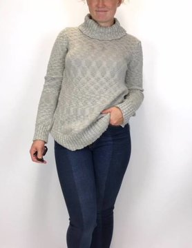 Aventura Aventura Riley Sweater Gry Ice
