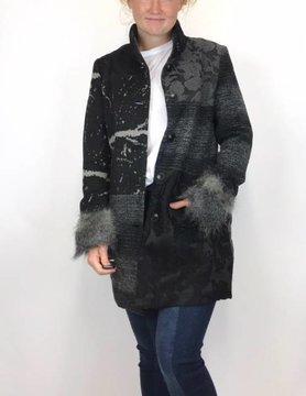 Desigual Desigual Charlotte Coat Black