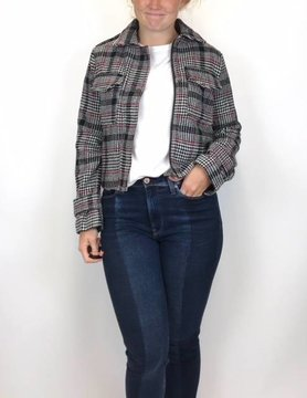 Esqualo Esqualo Plaid Jkt Asqualo