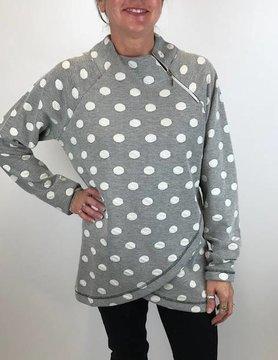 ISLE Isle Polka Dot Sweatshirt