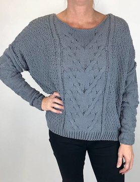 wild heart Wild Heart Sweater Grey Chenille