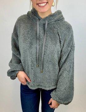 Z Supply Z Supply Sherpa Pullover Gravel Grey