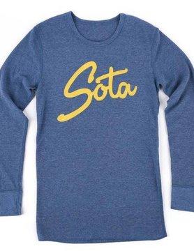 Sota Clothing Sota Sisu L/S Thermal Hthr Blue/Gold