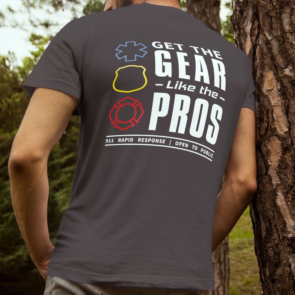 911RR Apparel 911RR Get the Gear Like the Pros T-shirt