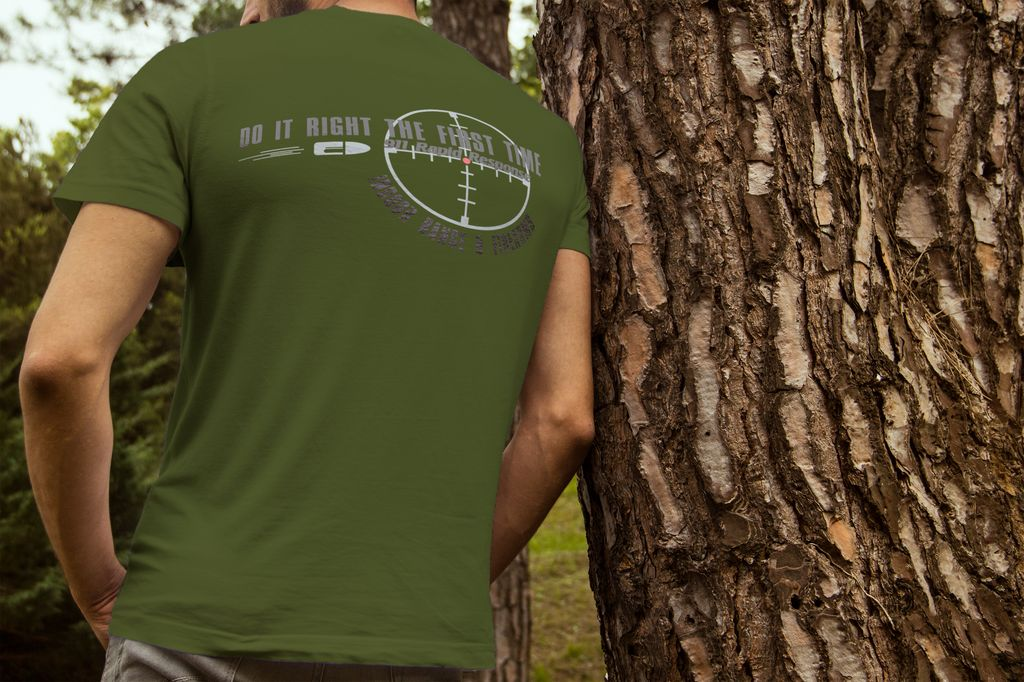 911RR Apparel 911RR Do it right the First time T-shirt