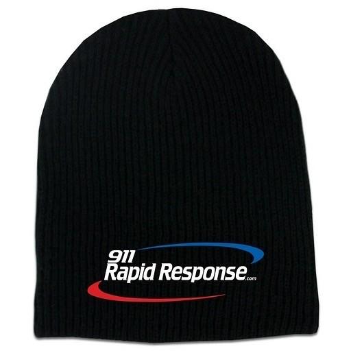 911RR Apparel 911RR WINTER HAT - Black