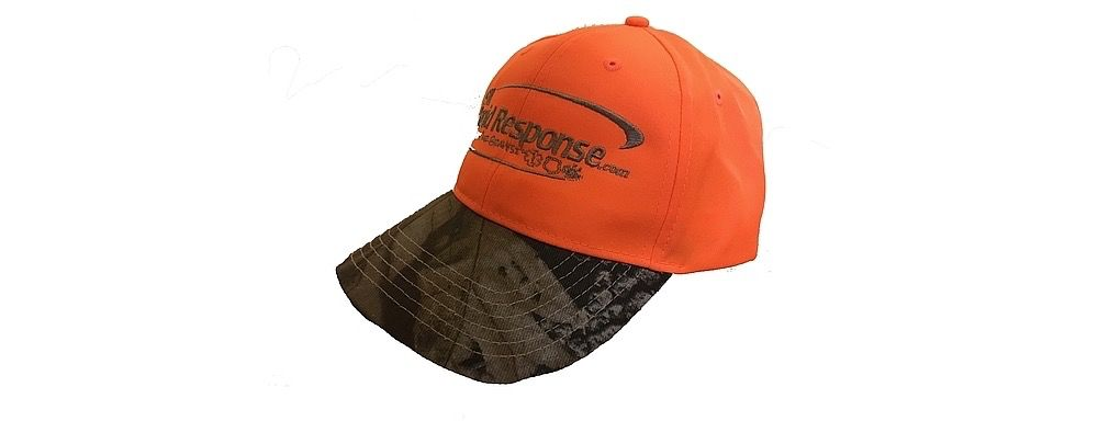 911RR Apparel 911RR SAFETY ORANGE CAMO HAT
