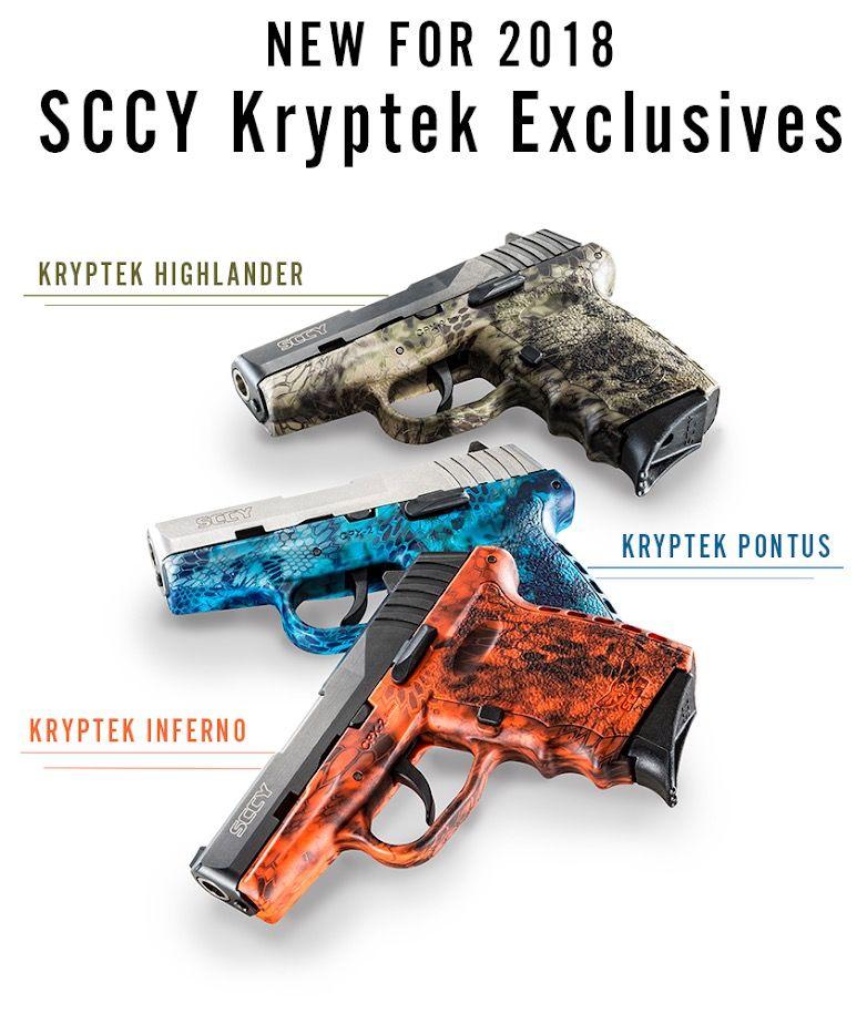 SCCY CPX-2 KRYPTEK HIGHLANDER