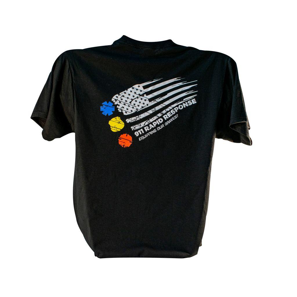 911RR Apparel 911RR Flag Shirt