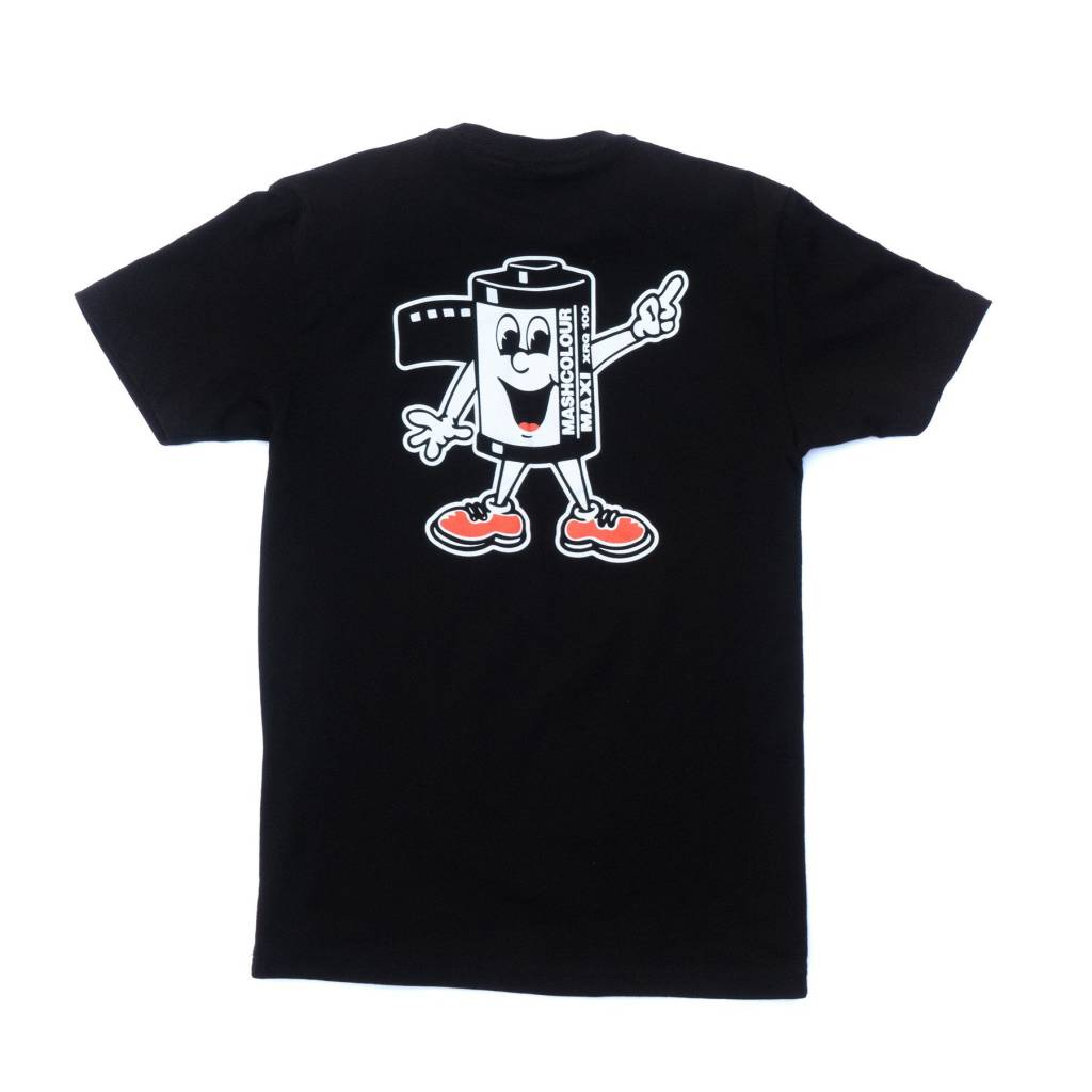 MASHCOLOUR T-Shirt Black