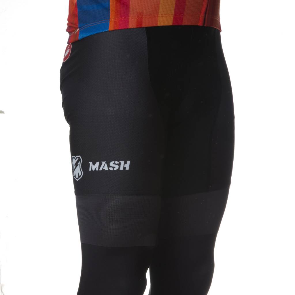 MASH Black Bib Shorts