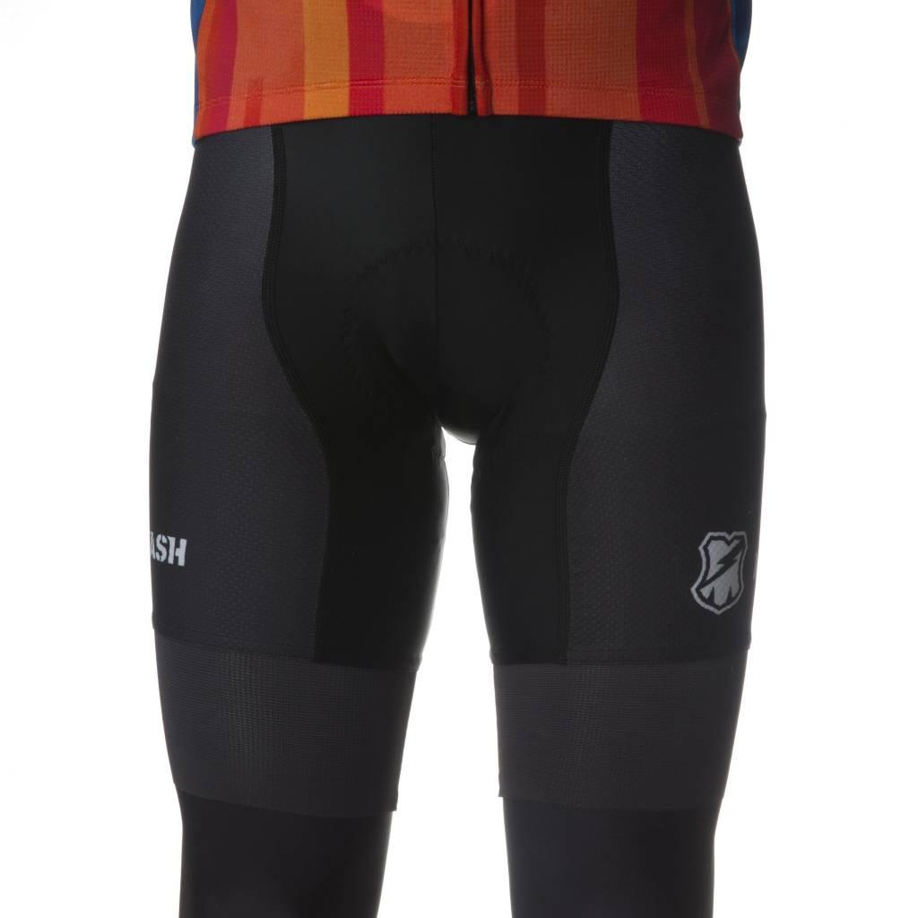 MASHSF MASH Black Bib Shorts
