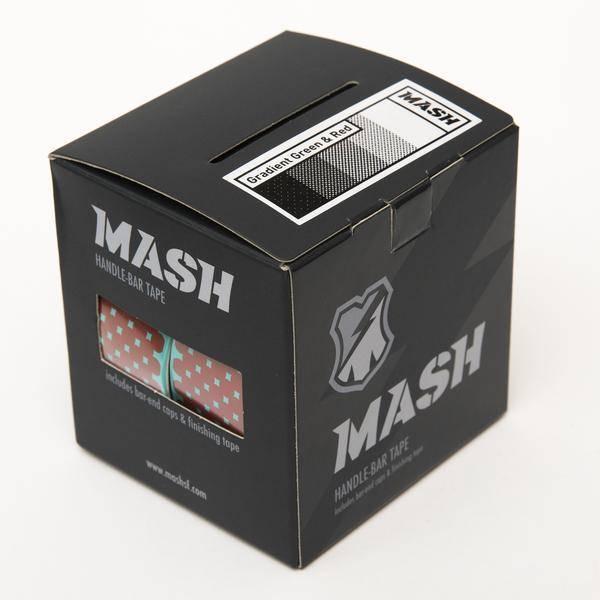 MASH Gradient Bar Tape Teal/Red