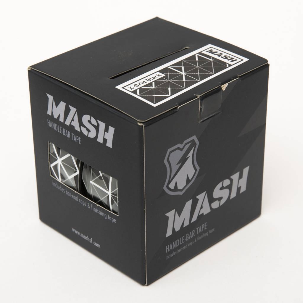 MASH X-Grid Bar Tape Black Gray White