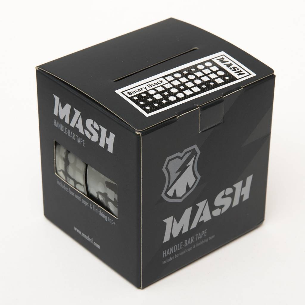 MASH Binary Bar Tape Black