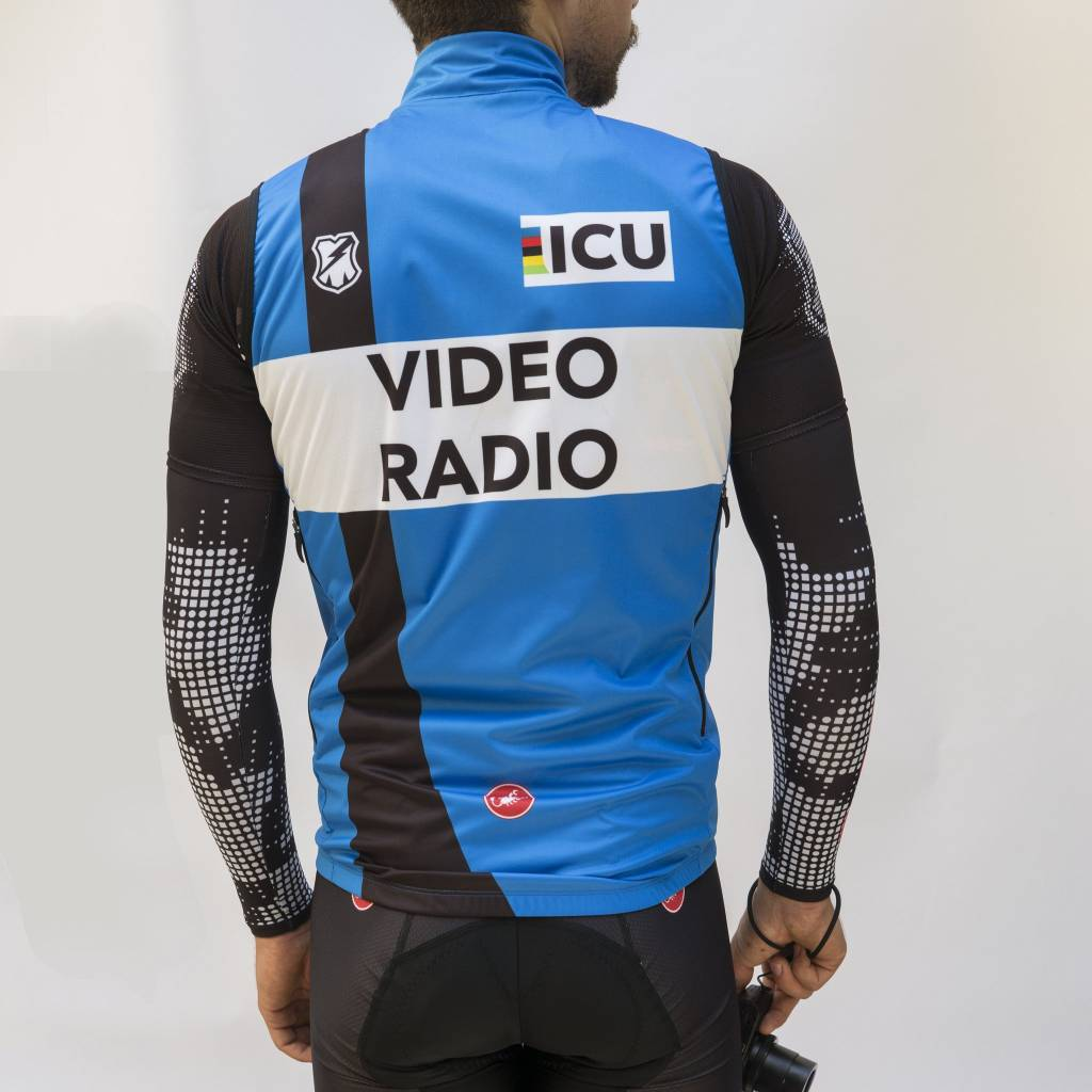 Castelli MASH ICU VIDEO BLUE VEST