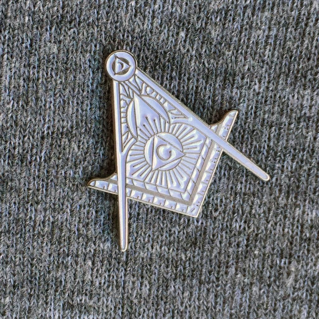 MASHSF Freemasons Pin