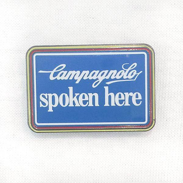 Campagnolo Spoken Here Pin