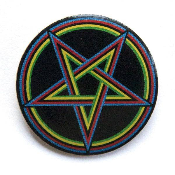 WCS Pentagram Pin