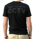 MASH CCTV T-Shirt Black