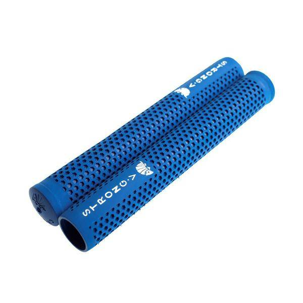 Strong V Track Grips Blue Pair