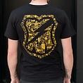 MASHSF Circuit Pocket T-Shirt Black/Gold