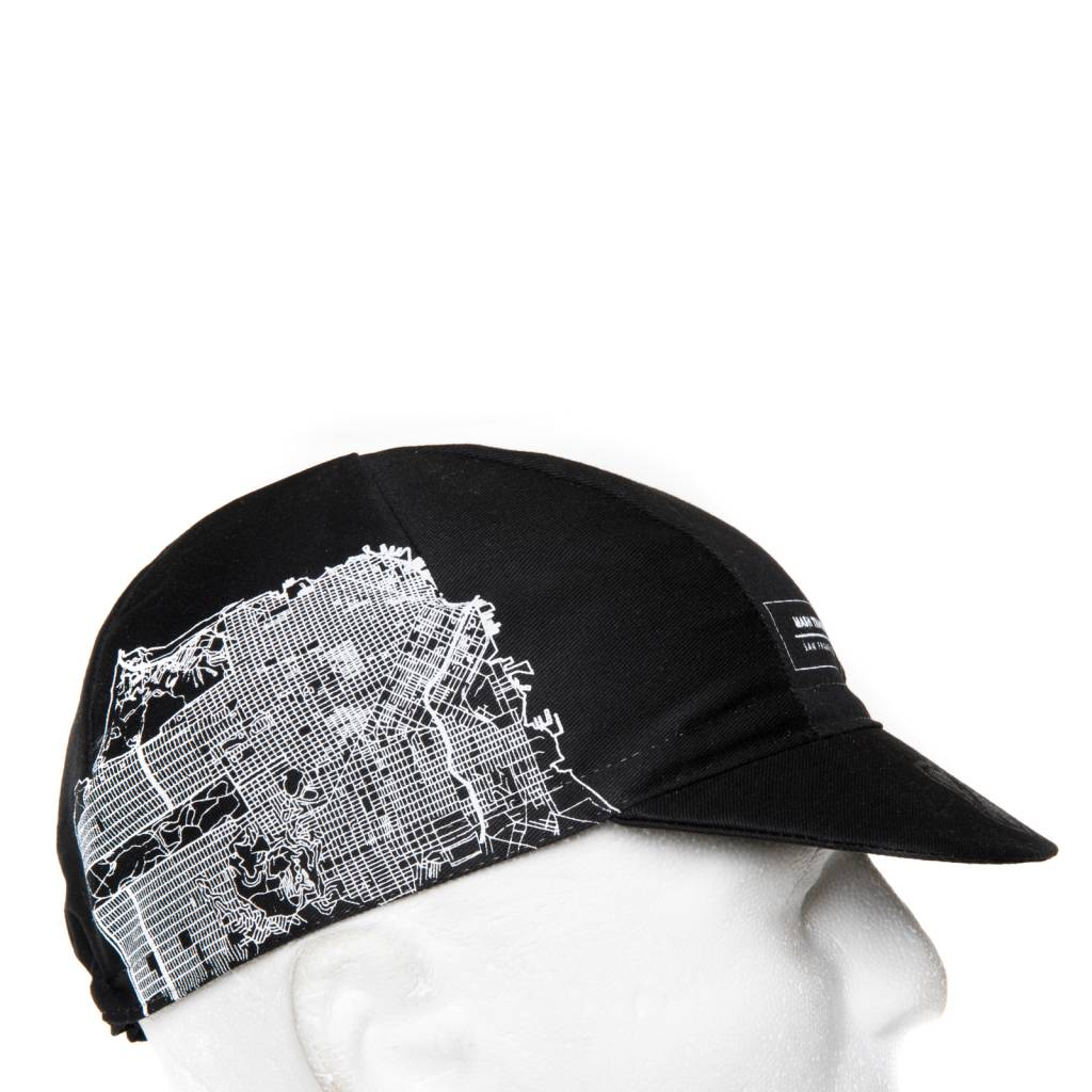 MASH SF MAP CAP BLACK