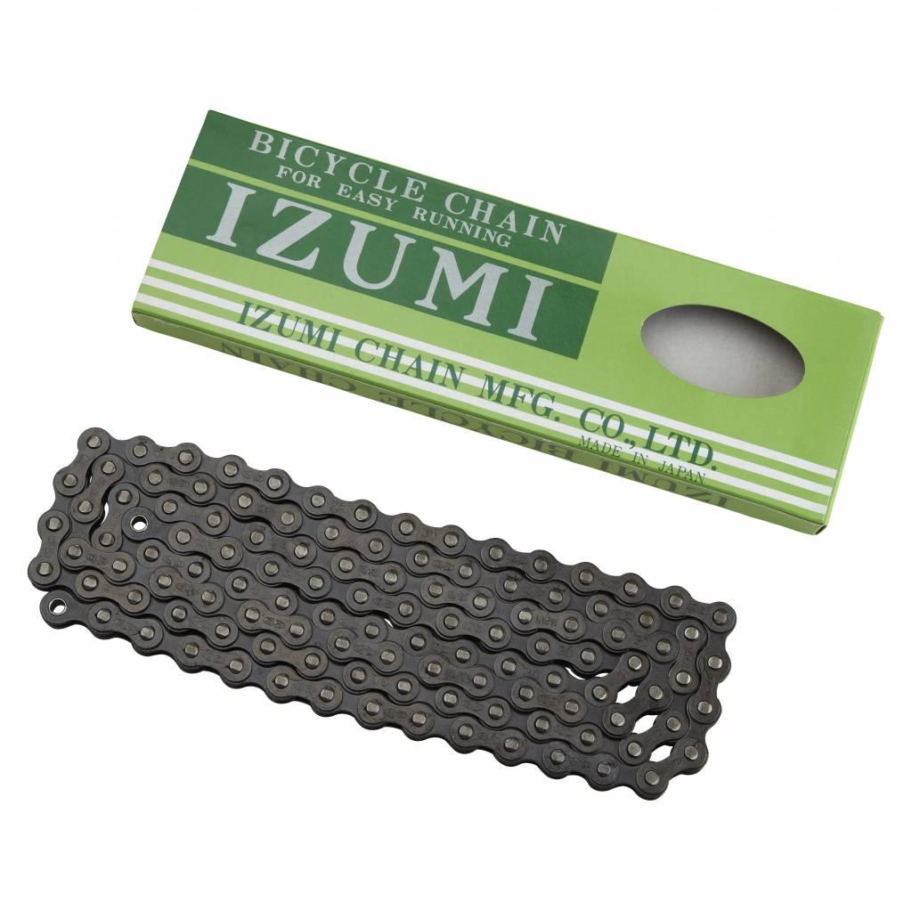 """Izumi Chain 1/8"""" 116L Standard Black"""