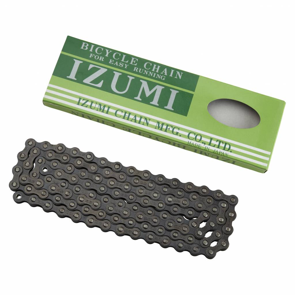 "IZUMI Izumi Chain 1/8"" 116L Standard Black"