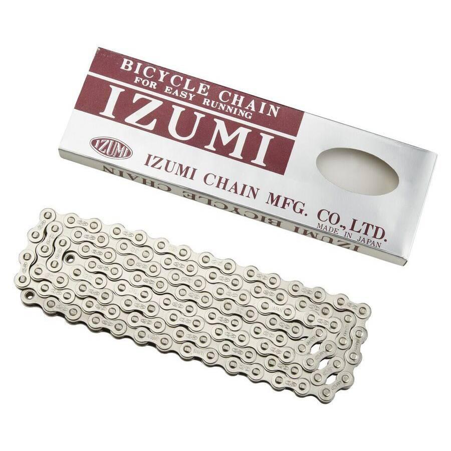 """Izumi Chain 1/8"""" 116L Silver"""