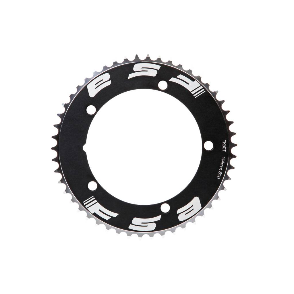 "FSA Pro Track 48t x144mm Black Chainring 1/2""x1/8"""