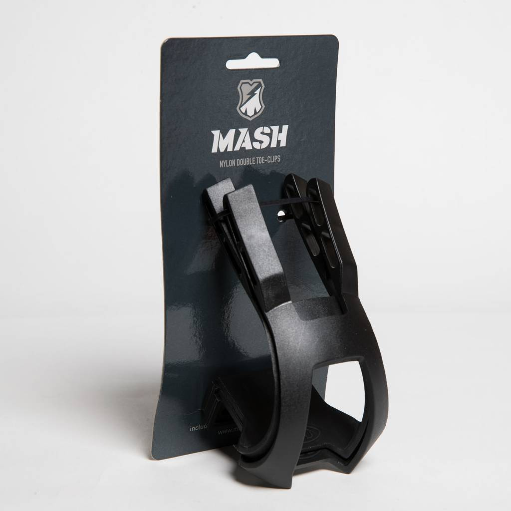 MASH NYLON DOUBLE TOE CLIPS + LOCKING HARDWARE