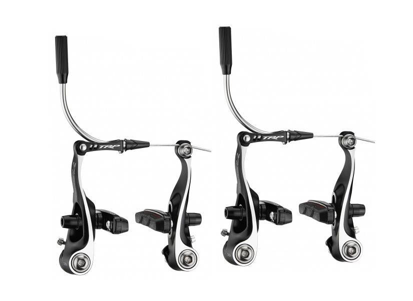 TRP TRP CX8.4 Mini Linear Pull Brake Set, Front and Rear, Black