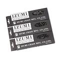 IZUMI X MASH JET BLACK CHAIN SERIES 1/8