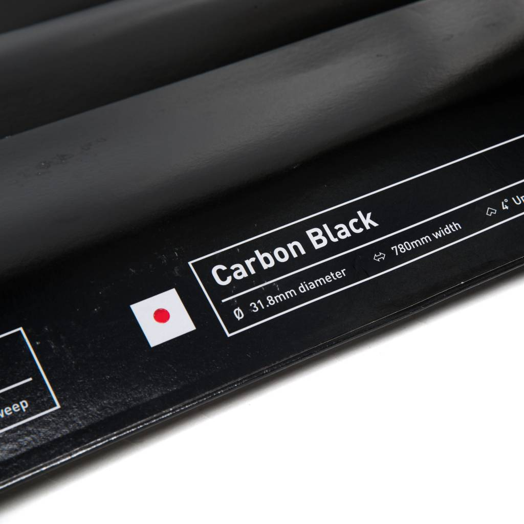 MASH Riser Bar Carbon 31.8 800 Black