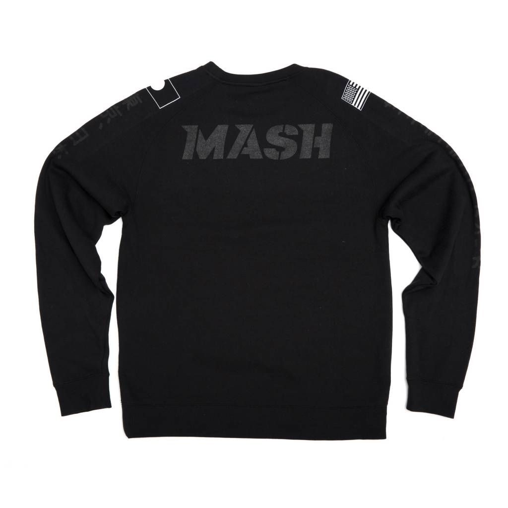 MASH Keirin Crewneck Black