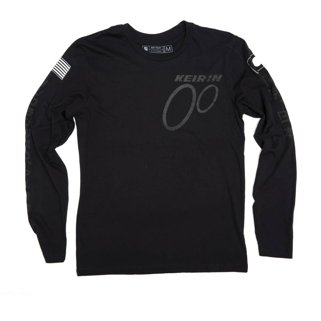 MASH Keirin Long Sleeve Black