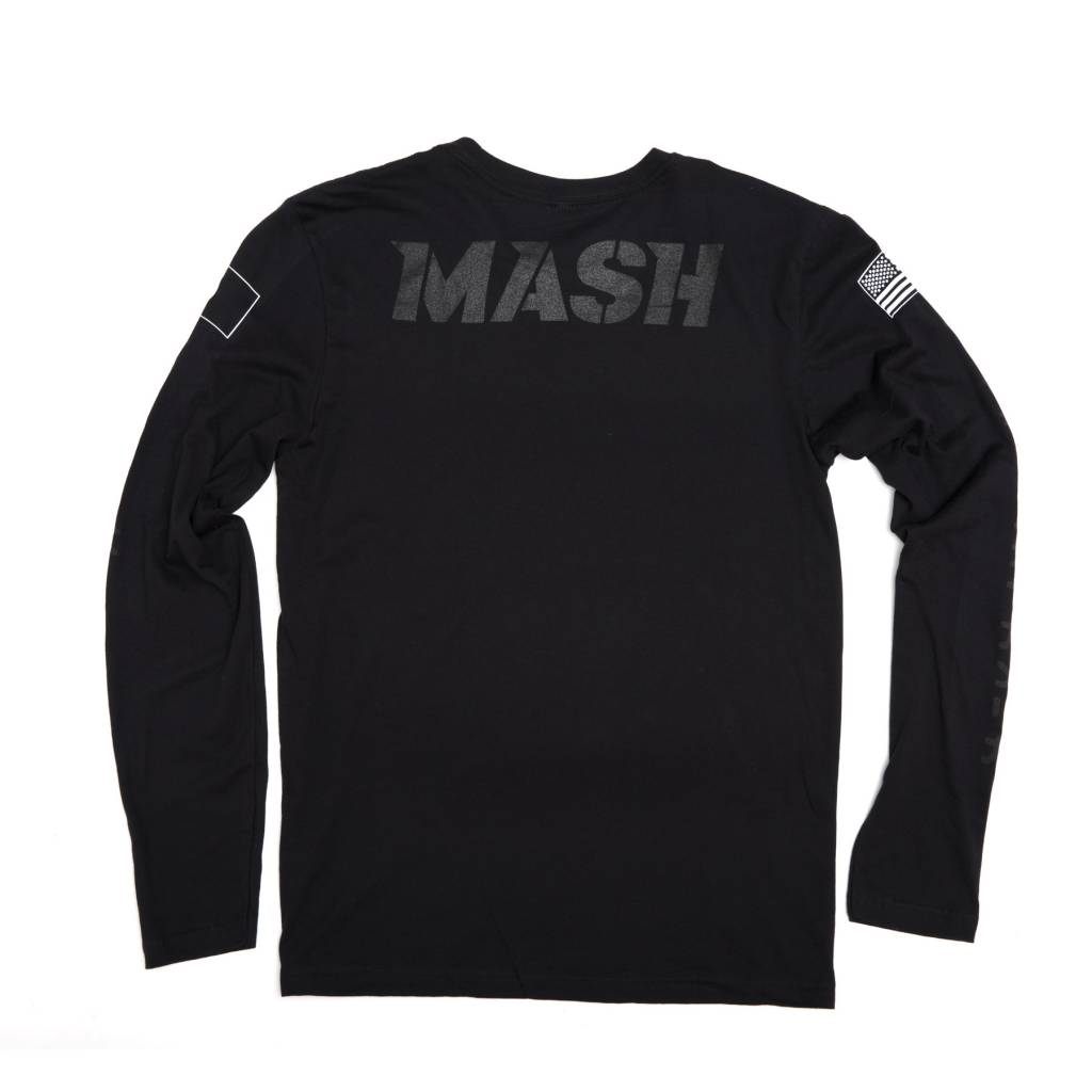 MASH Keirin Long Sleeve Black