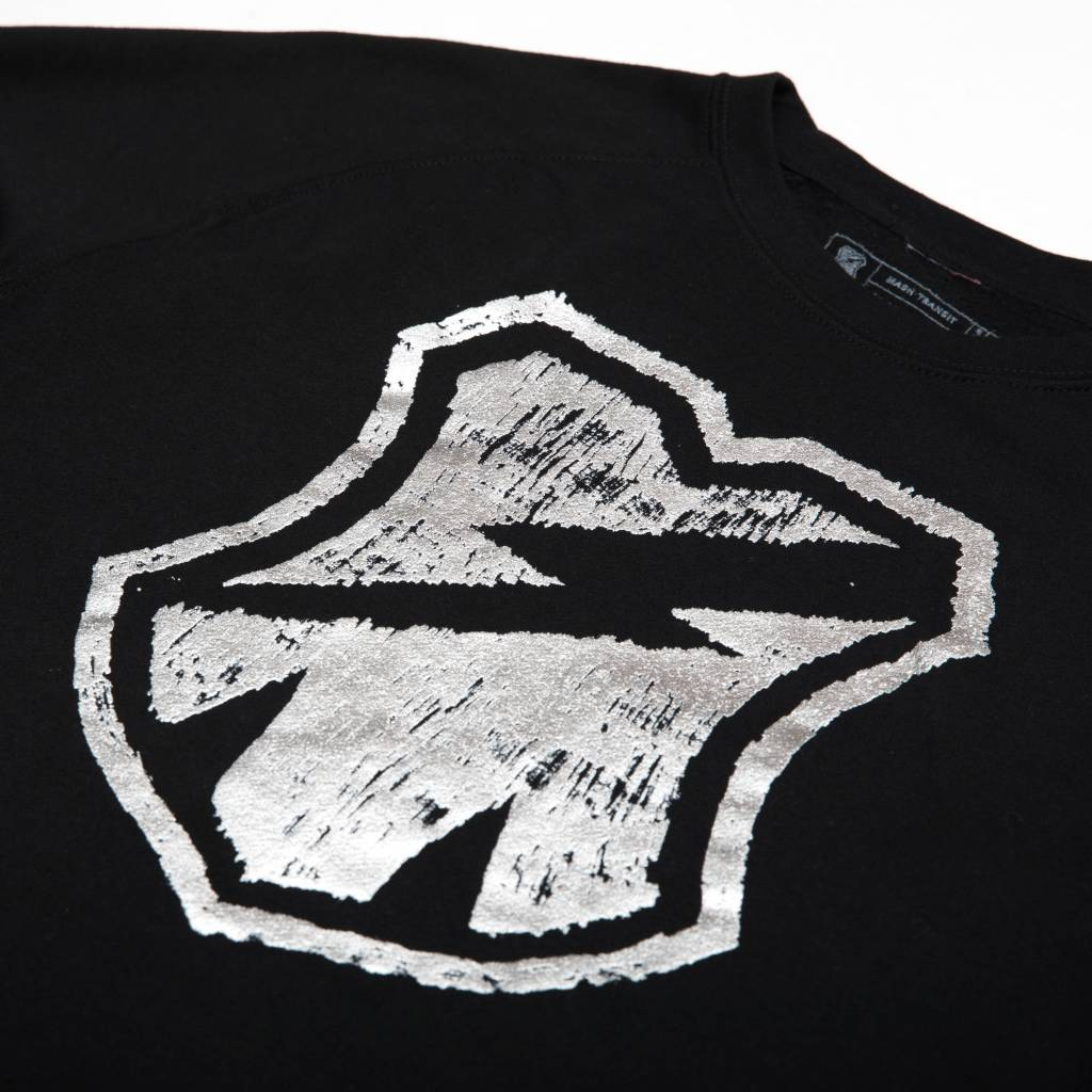 MASH  Crewneck Black + Silver